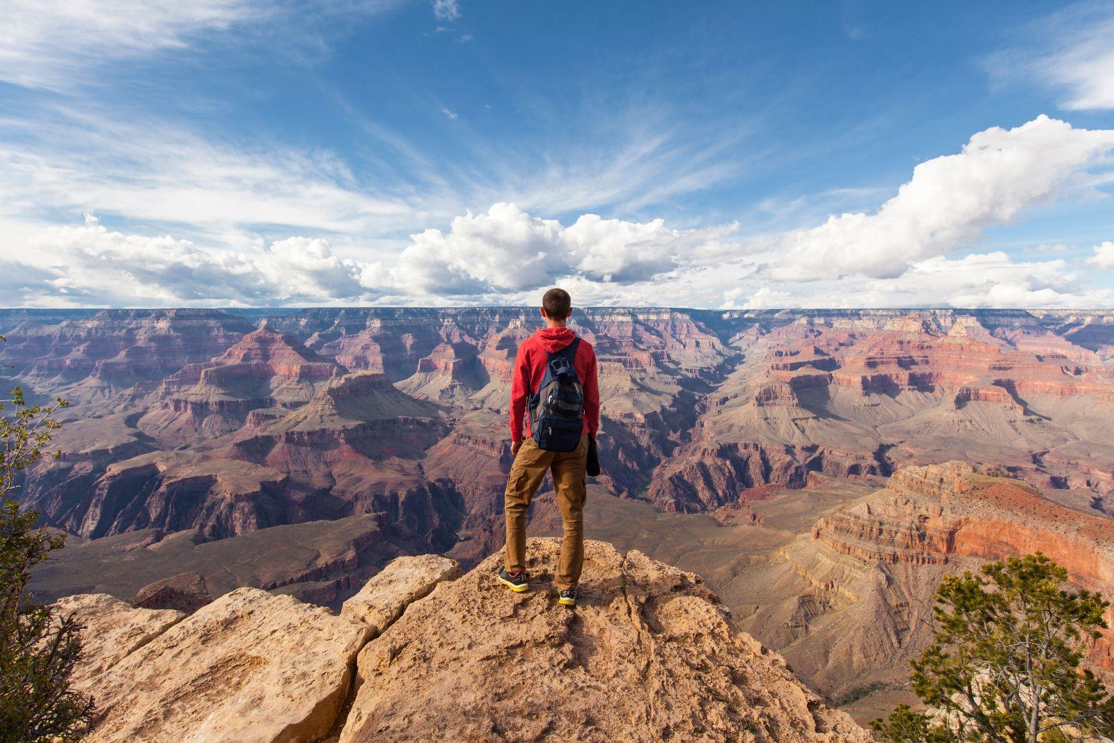 Im Jahr 2017 kamen 72,9 Millionen ausländische Besucher in die USA - weniger als in den Vorjahren.