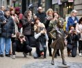 "New Yorks ""Fearless Girl"" zieht um"