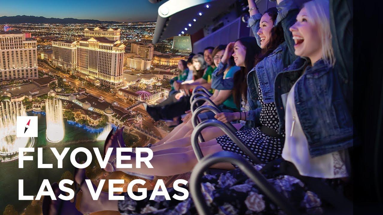 Die Eröffnung des Flying Theater namens FlyOver Las Vegas ist für 2021 geplant.