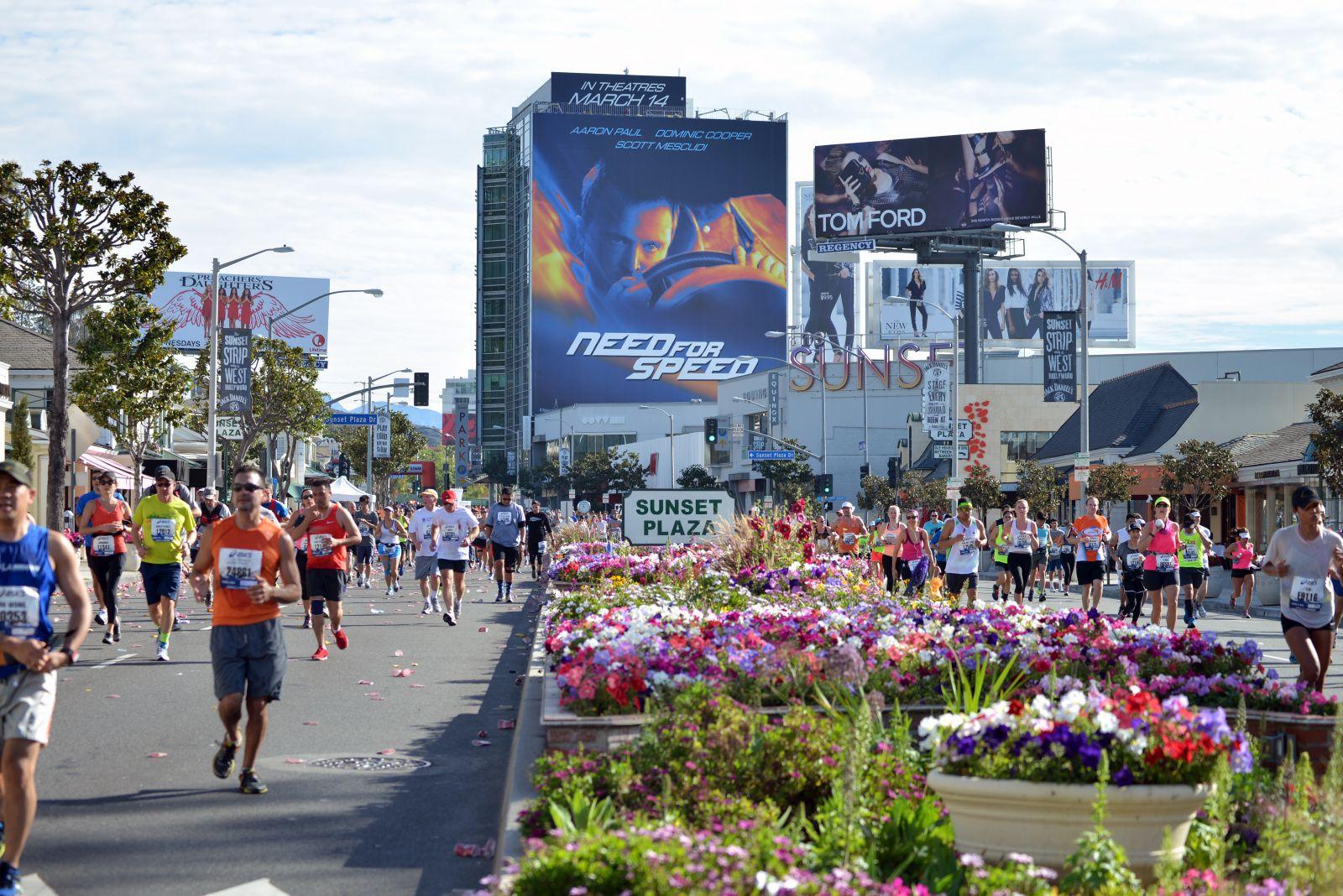Der Los-Angeles-Marathon ist einer der größten Marathons der Welt.