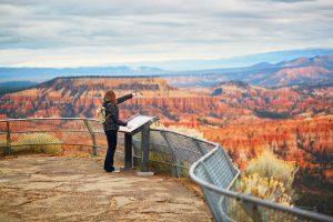 Im Bryce Canyon gibt es viele tolle Aussichtspunkte.