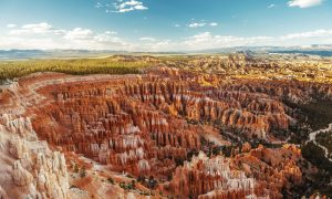 Der Bryce-Canyon-Nationalpark liegt im Südwesten Utahs in den USA.