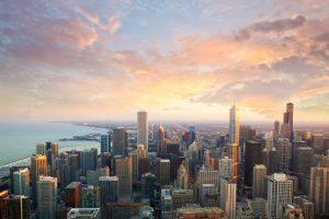 Chicago ist eine Stadt am Südwestufer des Michigansees in Illinois.