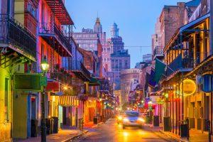 New Orleans die größte Stadt im Bundesstaat Louisiana.