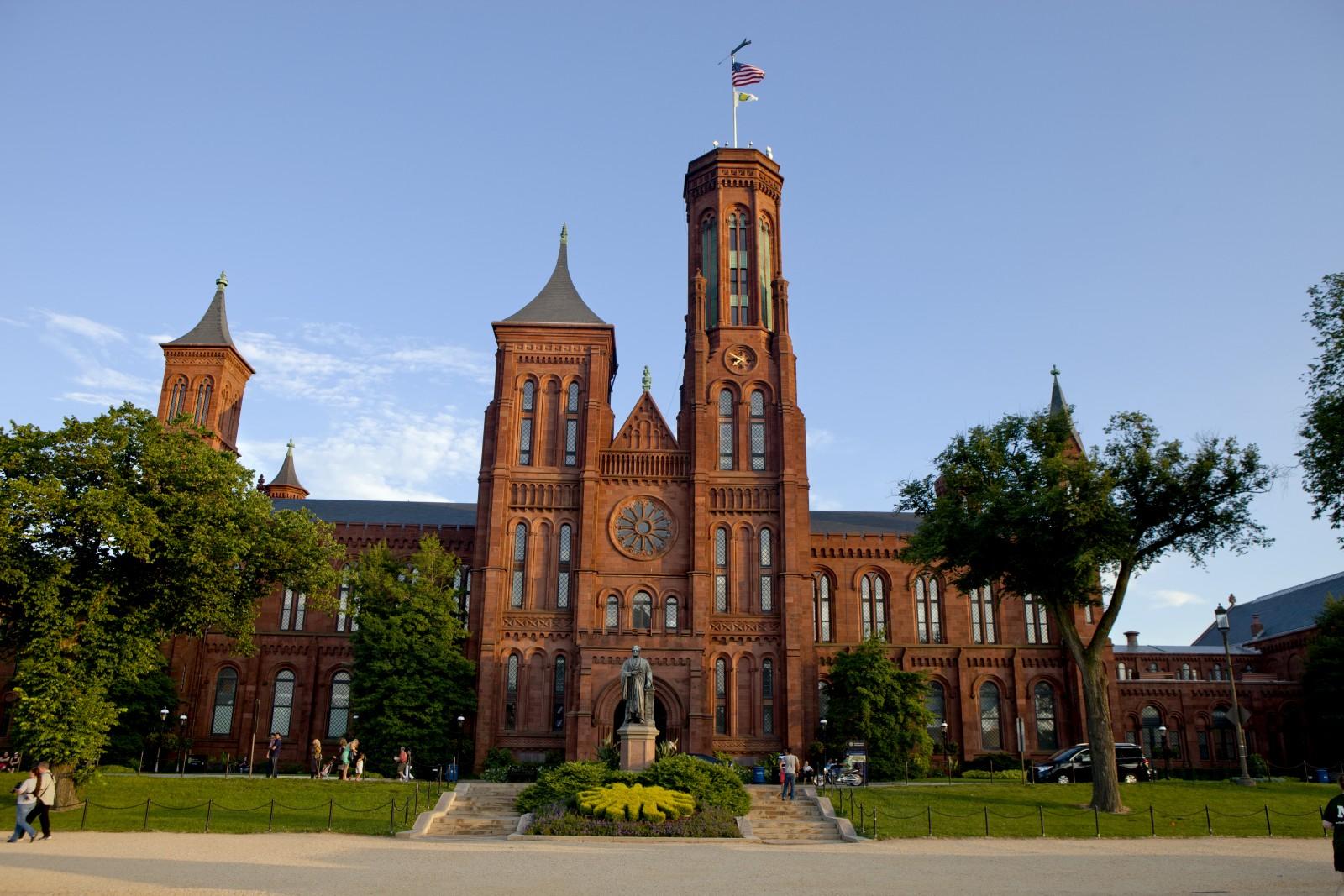 Die Smithsonian Institution ist eine Forschungs- und Bildungseinrichtung in Washington, D.C.