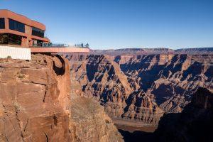 Der Grand Canyon Skywalk wurde im Jahr 2007 eröffnet.