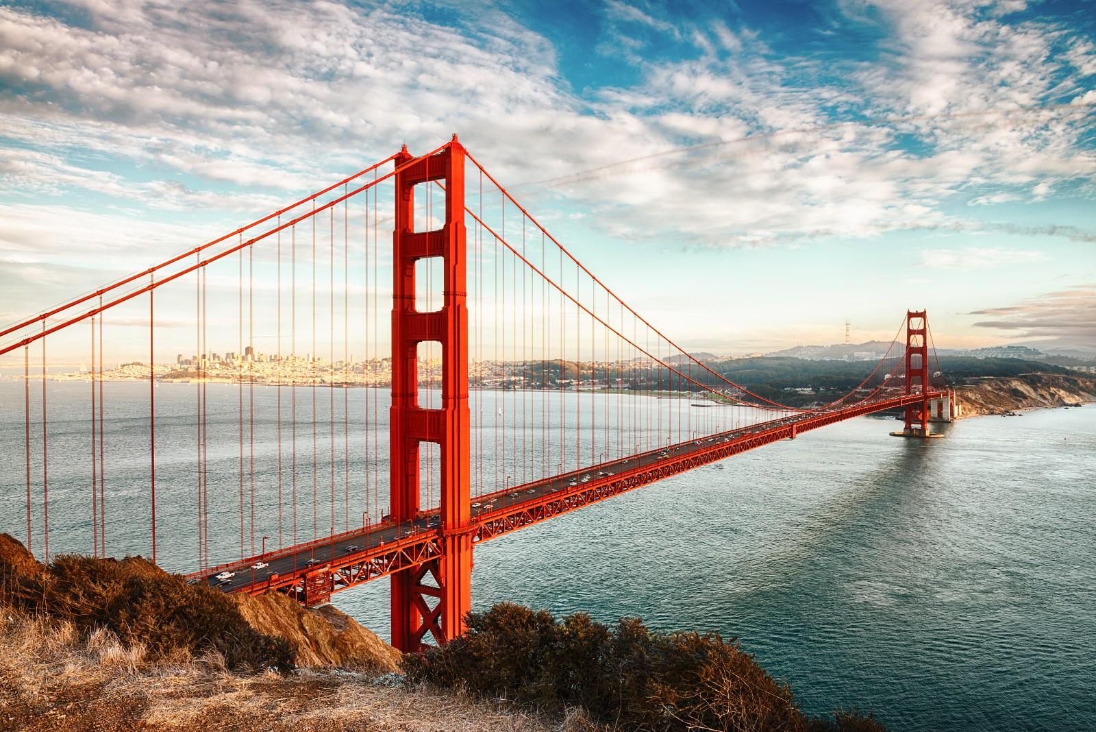 Golden Gate Bridge Das Wahrzeichen San Franciscos