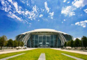 Das AT&T Stadium ist ein American-Football-Stadion und die Heimat der Dallas Cowboys.