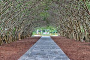 Das Dallas Arboretum and Botanical Garden ist ein 267.000 m² großer botanischer Garten.