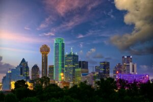 Dallas ist nach Houston und San Antonio die drittgrößte Stadt in Texas.