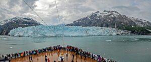 Der Margerie-Gletscher ist ein 34 km langer Gletscher im Glacier-Bay-Nationalpark, der rund 75 Meter aus dem Wasser ragt. Weitere 30 Meter befinden sich unterhalb des Wassers.