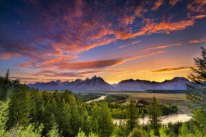 Der Grand-Teton-Nationalpark liegt im Westen von Wyoming.