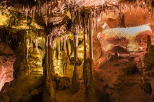 Die Lehman Caves ist eine Tropfsteinhöhle innerhalb des Great-Basin-Nationalparks.