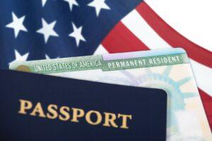 Die Greencard gilt als offizielles Ausweisdokument der Vereinigten Staaten von Amerika.