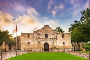 Das Alamo ist eine ehemalige Missionsstation in San Antonio.