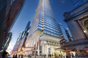 Der Wolkenkratzer One Vanderbilt in New York City wurde  Ende 2020 fertiggestellt. Foto: SL Green Realty Corp