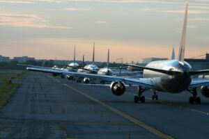 Der JFK-Airport in New York City ist ein Inbegriff für Flüge in die USA. Jährlich werden hier rund 56 Millionen Passagiere abgefertigt.