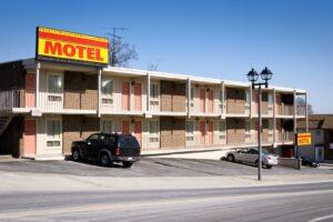 Motels dienen in erster Linie als Übernachtungsmöglichkeit.